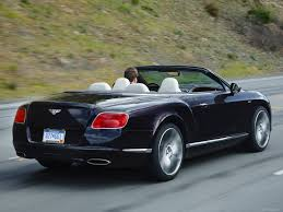 black convertible bentley bentley continental gt speed convertible 2014 picture 70 of 127