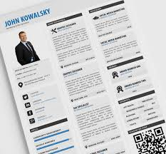 free resume templates for pdf 115 best free creative resume templates download