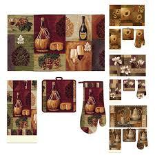 Brown Kitchen Rugs Kitchen Interesting 3 Piece Kitchen Rug Set Kitchen Rugs With