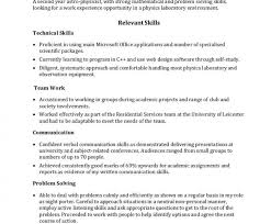 Communications Skills Resume Skills Examples For Resume Resume Skills And Abilities Example