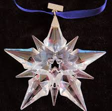 swarovski annual 2001 snowflake ornament retired limited