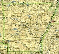 United States Map With State Names And Capitals by Arkansas Outline Maps And Map Links