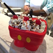 Mickeys Kitchen Sink Ice Cream In A Pants Bucket - Kitchen sink ice cream sundae