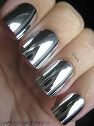 goose u0027s glitter mirror nails