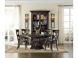 hooker furniture dining room davalle 54in round dining table w 1
