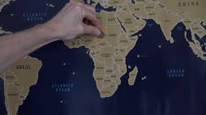 Best World Map Best Scratch Off World Map Voyage Mapper Youtube