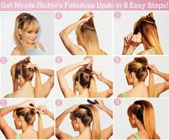 easy hairstyles for waitress s top 10 fashionable ponytail tutorials easy updo hairstyles long