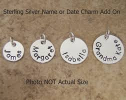 Personalized Charms Bulk Personalized Charm