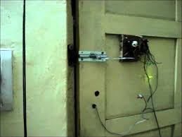 diy wire less door lock home made youtube