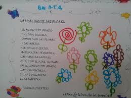 imagenes con flores azules dia de la maestra la primavera llega a la clase de 3 años ed infantil santos