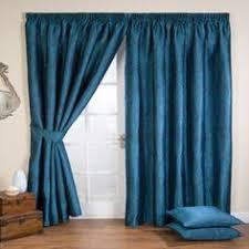 Childrens Curtains Debenhams Teal Plain Faux Silk Blackout Thermal Eyelet Curtain Bhs