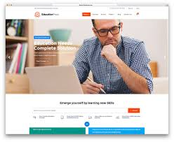 Design Home Page Online 32 Awesome U0026 Responsive Wordpress Education Themes 2017 Colorlib