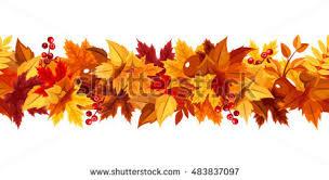 fall garland fall garland stock images royalty free images vectors