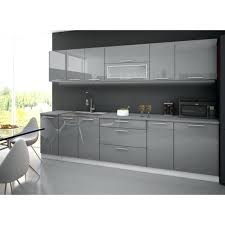 plan de travail meuble cuisine meuble cuisine gris cuisine complete 3m grise avec plan de travail