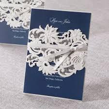 Navy Blue Wedding Invitations White And Navy Blue Wedding Invitation Cards Ec U0027s Love Invites