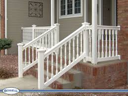 vinyl porch railings fencing columns decking profiles 5 rail depot
