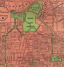 Map Buffalo Buffalo U0027s Historic Neighborhoods Hamlin Park