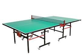 sporting goods ping pong table amazon com garlando master indoor table tennis table green top