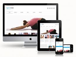 responsive design template sport responsive web template responsive templates