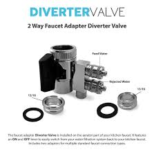 diverter valve 2 way faucet adapter intro video