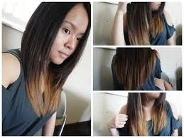 do it yourself hair cuts for women diy first hair cutting attempt m by mademoiselle