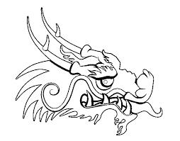 printable 21 dragon head coloring pages 4226 dragon head