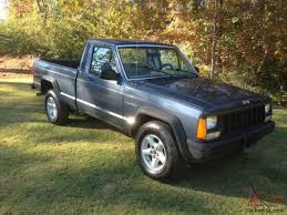 1988 jeep comanche custom jeep comanche base standard cab pickup 2 door 2 5l