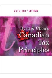 solution manual for byrd and chens canadian tax principles 2016