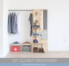 attractive homemade closet organizer this diy closet organizer is