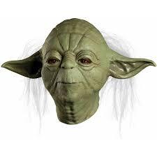 Yoda Halloween Costume Toddler Star Wars Yoda Overhead Latex Mask Halloween Costume