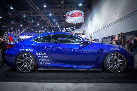 lexus rcf blue 2015 lexus rc f built by beyond marketing sema spotlight photo