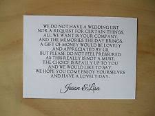 wedding gift list poems honeymoon money poems cards invitations ebay