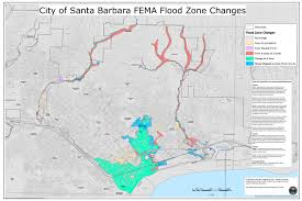 Santa Barbara Map New Flood Maps Released
