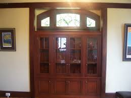 built in china hutch custom made built in china cabinet