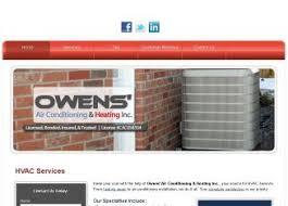 Owens Comfort Systems Owens U0027 Air Conditioning U0026 Htg In Plant City Fl 5837 Turkey Tree