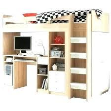 lit surélevé avec bureau lit mezzanine dressing lit mezzanine 1 place bureau integre lit