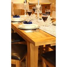 Vancouver Oak Coffee Table - vancouver oak vxd001 extension dining table 2540mm iwoot
