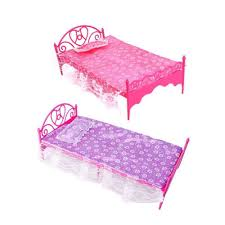 Barbie Dolls House Furniture Online Get Cheap Barbie Furniture Bed Aliexpress Com Alibaba Group