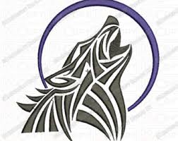 svg tribal wolf dxf wolf wolf howling wall decal car