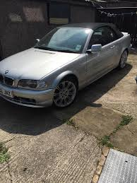 bmw 330ci e46 convertible 1 family ower low miles rare manual in