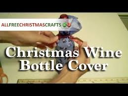 how to make a wine bottle cover