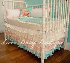 crib ruffle bed skirt baby crib design inspiration