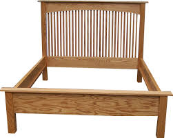 Wood Bed Frames And Headboards by Bedroom Furniture Light Brown Stained Wood Single Frame Having