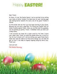 easter bunny letter template easter pinterest letter