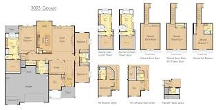 3 Bedroom Floor Plans With Bonus Room by 3003 Sqft Home 4 Bed Orchards Wa Pacific Lifestyle Homes