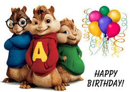 singing happy birthday dedicate an original of alvin and the chipmunks singing