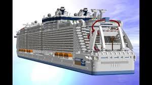 Ship Designer by Lego Digital Designer Harmony Of The Seas Youtube