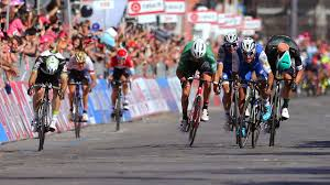 2017 Giro D U0027italia Live by Gaviria Takes Giro Stage 3 And Pink Jersey Cycling