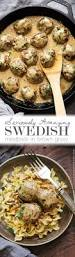 seriously amazing swedish meatballs in brown gravy recipe