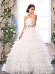 strapless ball gown wedding dresses with lace sang maestro